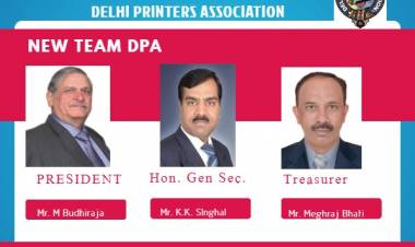 MEET THE NEWLY ELECTED TEAM OF DELHI PRINTERS ASSOCIATION