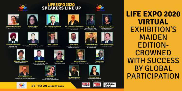 LIFE EXPO 2020 VIRTUAL EXHIBITION MAIDEN EDITION  CROWNED WITH SUCCESS