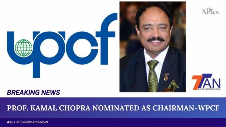 "PROF. KAMAL CHOPRA PRESIDENT-AIFMP GETS ANOTHR HAT ""CHAIRMAN-WPCF"""